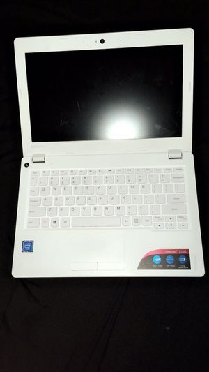White Lenovo laptop for Sale in Farmington Hills, MI