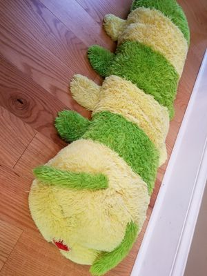 4-ft Giant caterpillar worm stuffed plush animal for Sale in Duluth, GA