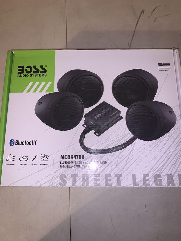 Boss Audio Motorcycle Speakers