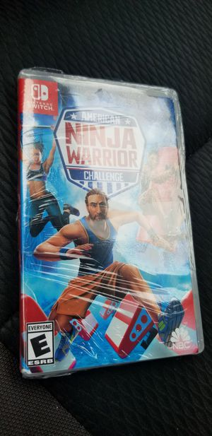 Nintendo Switch American Ninja Warrior Challenge for Sale in Pittsburgh, PA