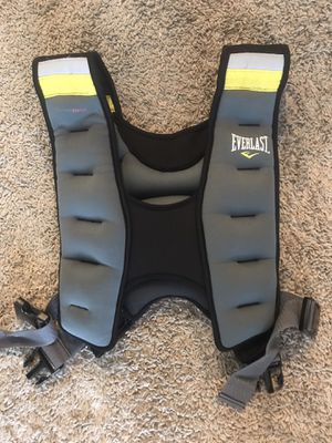 Everlast weighted vest for Sale in Fort Mill, SC