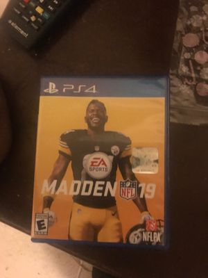 Madden 19 and 2k19 20 each rite now for Sale in Broxton, GA