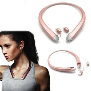 Bluetooth Headset Sport Stereo Wireless Headphone Earphone for iPhone Samsung Rosegold (sportheadphone-rosegold-USA) for Sale in Riverside, CA