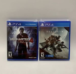 Lot of 2, PlayStation 4 (PS4) Games. for Sale in Burleson, TX