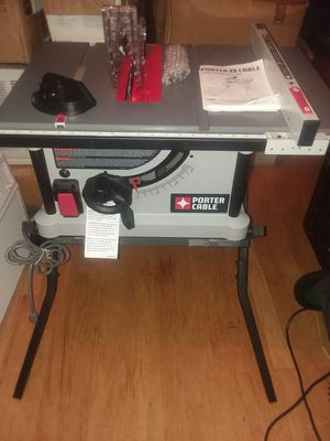 New porter cable table saw for Sale in Baltimore, MD