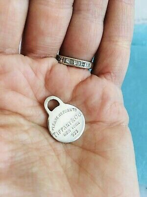 Tiffany & Co. Little Round Return To Silver Charm or Pendant. for Sale in Nashville, TN
