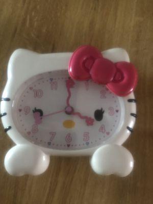 Hello kitty alarm clock for Sale in Miami, FL