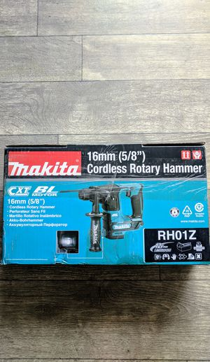 """Makita 12-Volt MAX CXT 16mm 5/8"""" in. Brushless Cordless SDS-Plus Concrete/Masonry Rotary Hammer Drill (Tool Only) for Sale in Las Vegas, NV"""