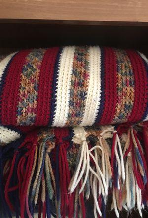 Handmade Afghan blanket, twin size $15 for Sale in Hillsboro, OR