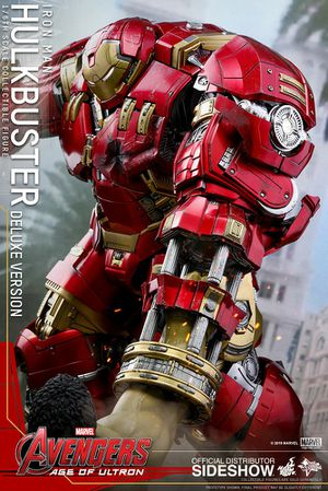Hot toys hulkbuster deluxe brand new for Sale in Montebello, CA