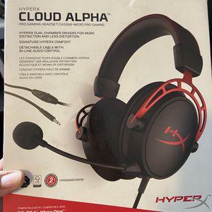 HyperX Cloud Alpha Gaming Headphones for Sale in Hollywood, FL