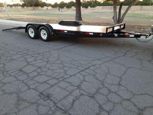 Car hauler trailer pj 18 ' for Sale in Glendale, AZ