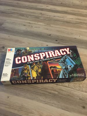 Conspiracy Board Game for Sale in Orem, UT