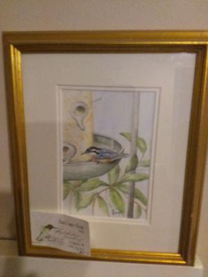 Paula Cooper-Bertke original watercolor for Sale in Branford, CT