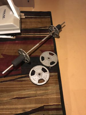 Small set of weights for sale. for Sale in Reynoldsburg, OH