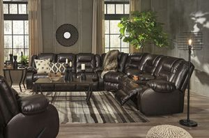 🏅 SPECIAL 🏅 Vacheria Chocolate Reclining Sectional 👉by Ashley ⏳3-6DAYS DELIVERY⏳ for Sale in Baltimore, MD