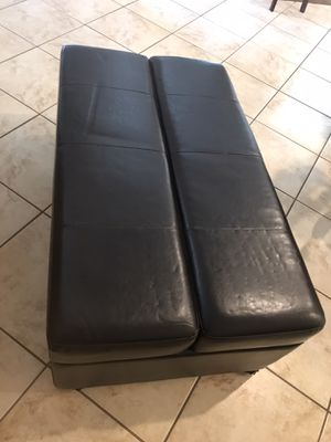 Ottoman / Pull out bed! for Sale in Gibsonton, FL
