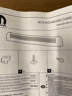 Mopar Ski & Snowboard Carrier for Sale in Kent,  WA