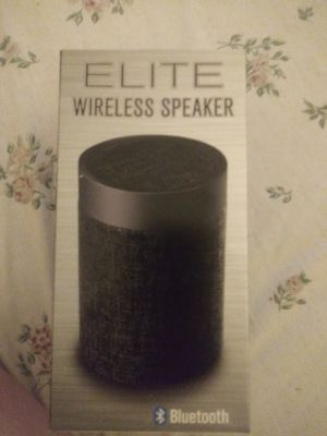 Indeed Bluetooth speaker box with battery pack portable charger brand new for Sale in Hialeah, FL