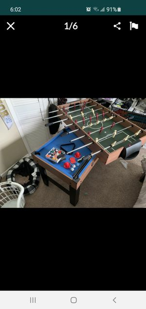 "MDsport 48"" 3 in 1 combo table for $150 for Sale in Aloma, FL"
