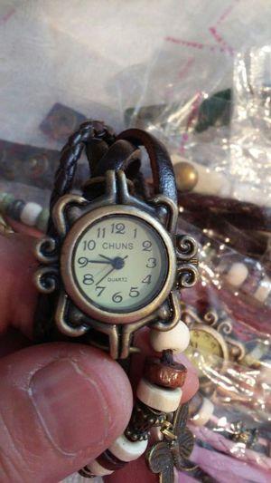 Butterfly charm bracelet watch for Sale in Salt Lake City, UT