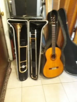 Guitar & Trumpet for Sale in Chicago, IL