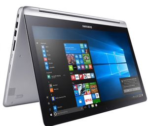 Quick Sale Cheap!!!!! Touchscreen Samsung notebook 7 spin 15.6 computer laptop tablet all in one for Sale in Tucson, AZ