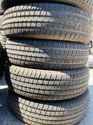 Used set of Lt 2358016 ST trailer tires for sale for Sale in Modesto, CA