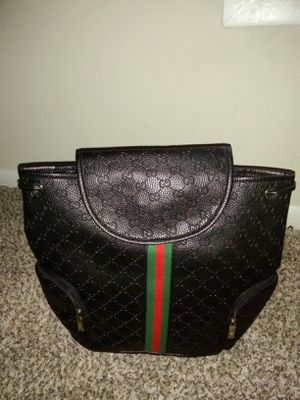 NEVER USED AUTHENTIC GUCCI BACKPACK for Sale in Smyrna, GA