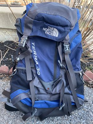 Hiking backpack(Very high quality and brand, Northface Terra 30 in like new condition. Very clean inside and out) for Sale in Columbia, MD