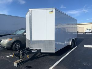 2019 Enclosed Trailer Covered Wagon 7x18 for Sale in Boca Raton, FL