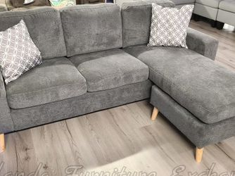 NEW GREY SECTIONAL SOFA COUCH for Sale in Oviedo,  FL