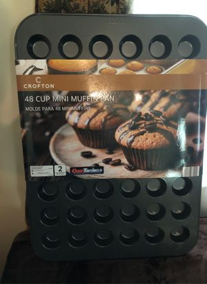 48 mini muffin cupcake pan for Sale in Silver Spring, PA