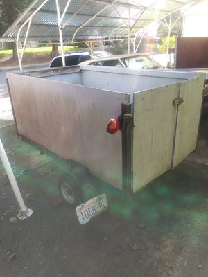 Utility trailer Washington title for Sale in Vancouver, WA