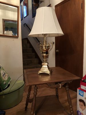 Solid Brass Trophy Lamp for Sale in Conyers, GA