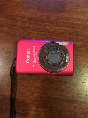 Cannon Powershot Camera Pink for Sale in Nipomo, CA