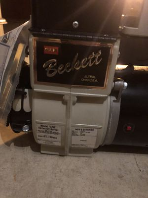 Brand new Beckett oil burner for Sale in Huntersville, NC