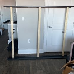 Queen Bed Frame W/ Headboard And Foot Board for Sale in Atlanta,  GA