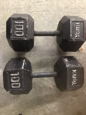 100 lb dumbbell set for Sale in McDonald, PA
