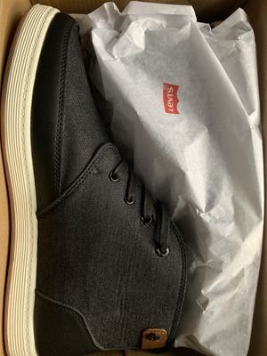 Levi's Black Denim shoes for Sale in Freehold, NJ
