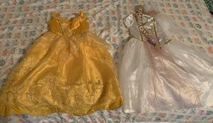 Rapunzel and Belle Princess Dresses for Sale in Spring, TX