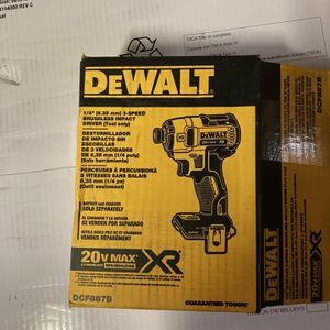 Dewalt Xr Impact for Sale in Seattle, WA