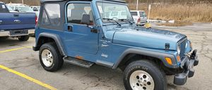 1999 Jeep Wrangler 4.0L sport for Sale in Maple Heights, OH