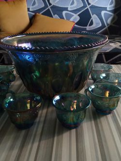 Antique Punch Bowl Set for Sale in Dickinson,  TX