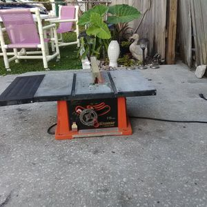 Table Saw, Firestorm 15 Amp for Sale in Pinellas Park, FL