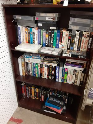 Approx 125 vhs asst tapes for Sale in Halifax, PA