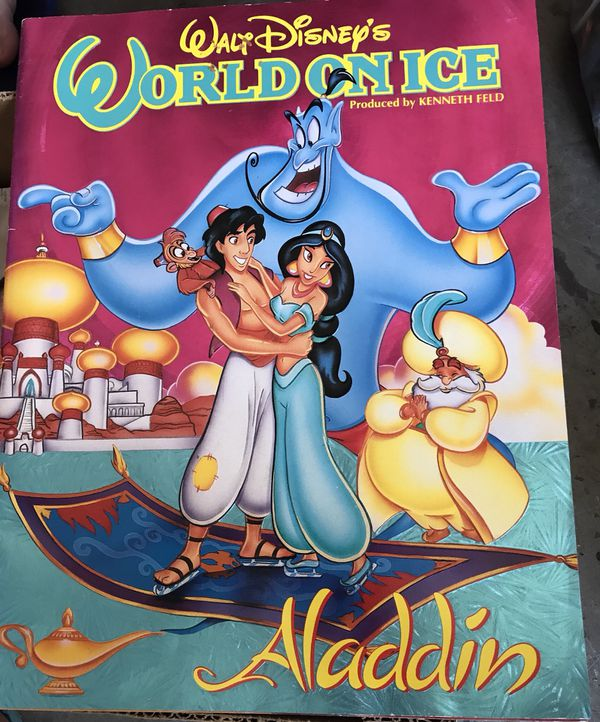 Aladdin World on ice program 1994