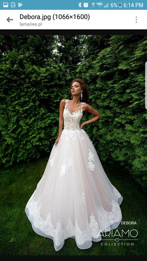 Beautiful wedding dress from Europe for Sale in Ontarioville, IL
