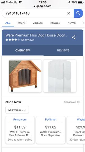 Dog house door flap for Sale in San Diego, CA