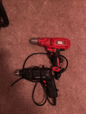 black and decker drills for Sale in Oklahoma City, OK